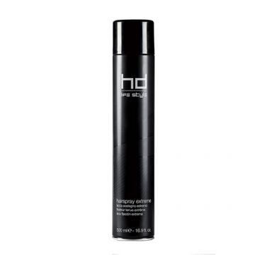 Fixativ Farmavita Hd Hair Spray Extreme cu fixare forte 500 ml