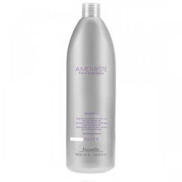 Sampon Farmavita Amethyste Silver pentru intretinerea culorii blond 1000 ml
