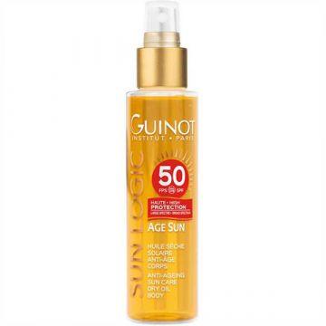 Ulei uscat de corp Guinot Age Sun Huile SPF50 150ml