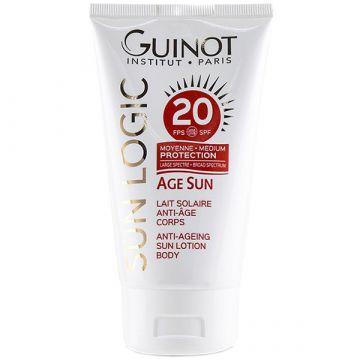 Lapte de corp Guinot Age Sun cu protectie solara SPF20 150ml