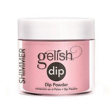 Pudra acrilica Gelish Dip Elegant Pink 23g