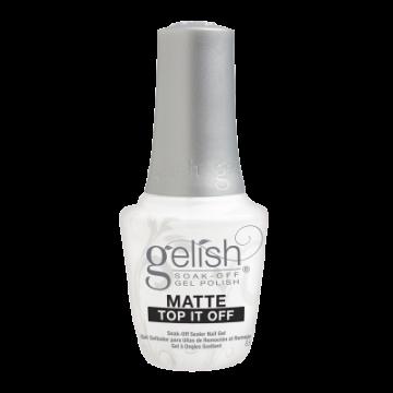 Топ лак Gelish Matte Top It Off Soak-Off Sealer Gel 15 мл