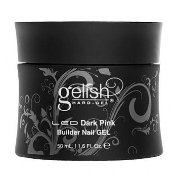 Gel constructie unghii Gelish Dark Pink 15ml