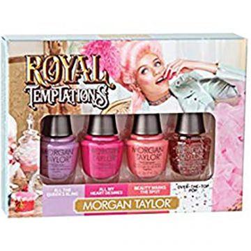 Комплект мини лакове за нокти Morgan Taylor Royal Temptation 4x5мл