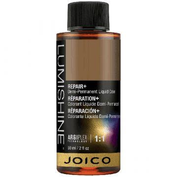 Vopsea de par demi-permanenta Joico Lumishine Demi Liquid 4RR 60ml