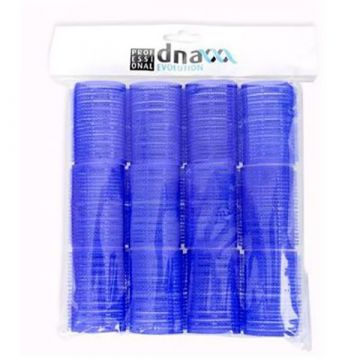 Ролки за коса Kiepe velcro D40 сини