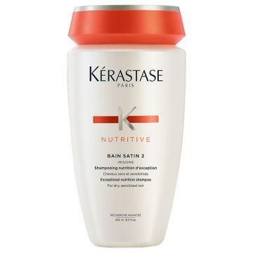 Шампоан Kerastase Nutritive Bain Satin 2 Irisome за нормална и леко суха коса 250мл
