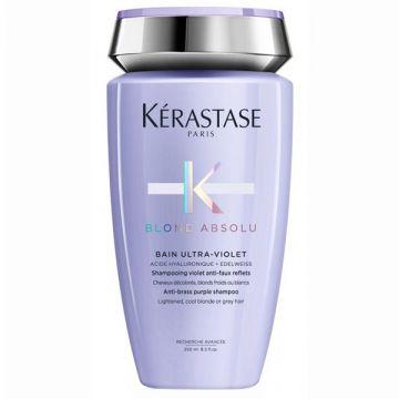 Шампоан за неутрализиране на жълти тонове Kerastase Blond Absolu Bain Ultra-Violet 250мл