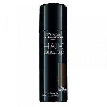 Професионален спрей коректор  за покриване на бели коси L'Oréal Professionnel Hair Touch Up Light Brown, 75 мл