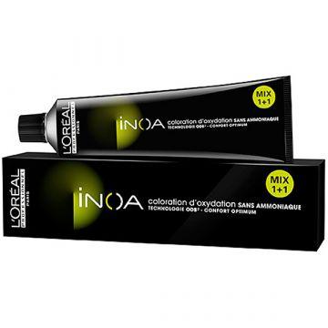 Vopsea de par fara amoniac L'Oreal Professionnel Inoa 5.18 60ml