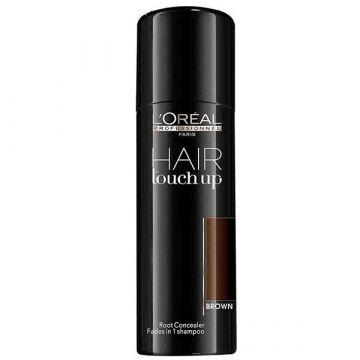 Spray corector profesional pentru acoperirea firelor albe de par L'Oreal Professionnel Hair Touch Up Brown 75 ml