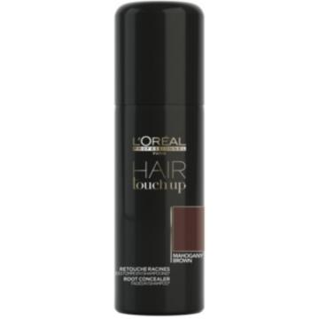 Spray corector profesional pentru acoperirea firelor albe de par L'Oréal Professionnel Hair Touch Up Mahogany Brown, 75 ml