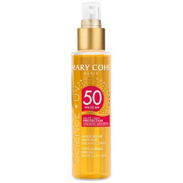 Ulei uscat Mary Cohr cu protectie solara Science UV SPF50 150ml
