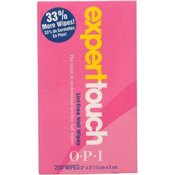 Разтворими кърпички OPI Expert Touch 200бр.