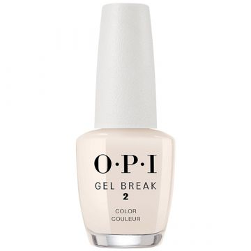Лак за нокти терапия OPI Gel Break Barely Beige 15мл