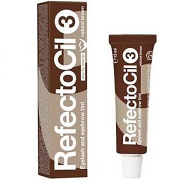 Vopsea sprancene Refectocil Natural Brown 3 15ml