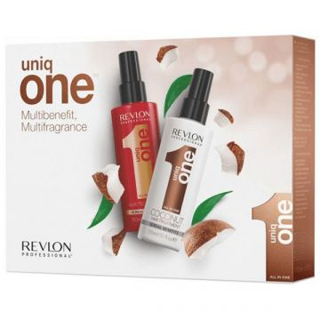 Set tratament de par Revlon Professional Uniq One Classic 150ml+Coconut 150ml