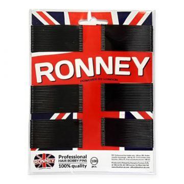 Фиби за коса Ronney черни  6cм 100 бр.
