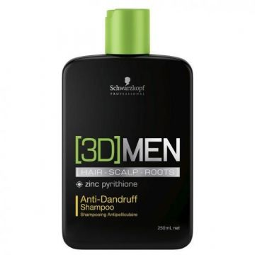 Sampon Schwarzkopf Professional 3DMen Anti-matreata 250ml
