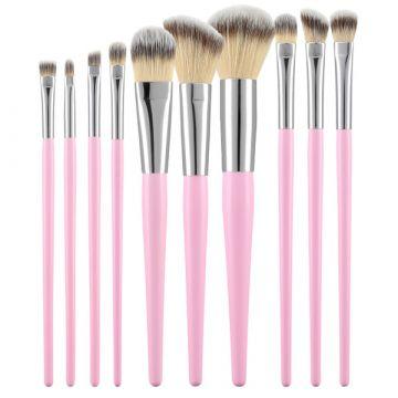Комплект  10 четки Tools4Beauty розов