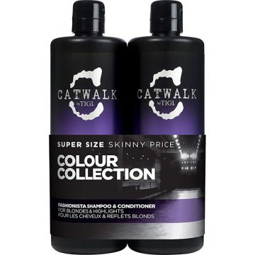 Set Tigi Catwalk Colour Collection Sampon 750ml+Balsam 750ml