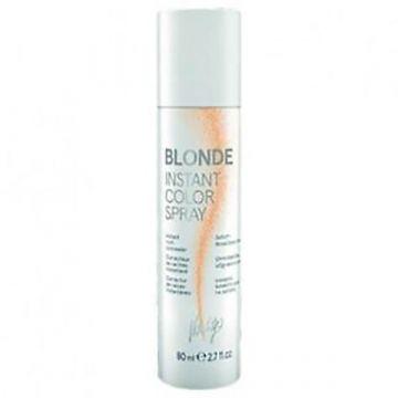 Spray colorant Vitality's Instant Color pentru acoperirea radacinilor crescute (blond) 80ml