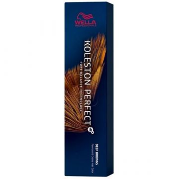 Vopsea de par Wella Professionals Koleston Perfect Me 12/81 Blond Special Albastrui Cenusiu 60 ml