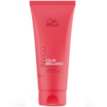 Balsam de par Wella Professionals Invigo Color Brilliance fir subtire 200ml