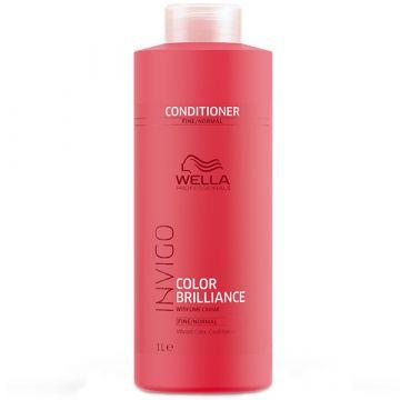 Балсам за Коса Wella Professionals Invigo Color Brilliance за Тънка Коса 1000 мл