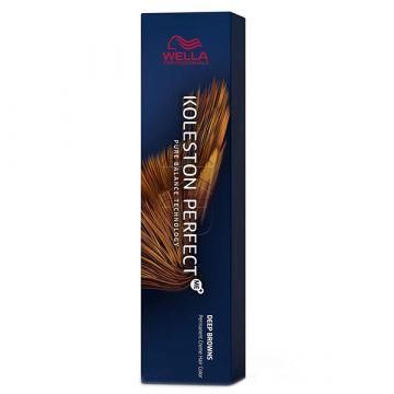 Vopsea de par Wella Professionals Koleston Perfect Me 6/75 Blond Inchis Castaniu Mahon 60 ml