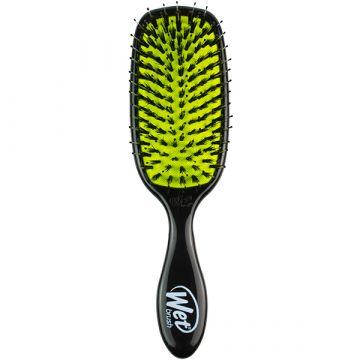 Perie de par Wet Brush Shine Enhancer pentru stralucire Negru