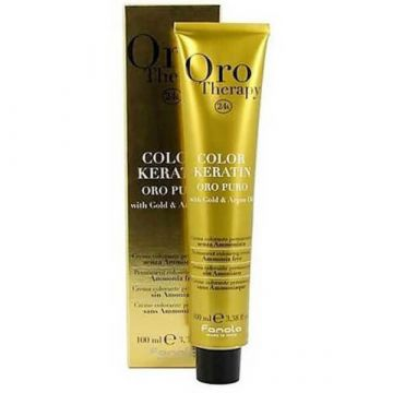 Перманентна боя за коса без амоняк  Fanola Oro Therapy Color Keratin 1.0 100мл