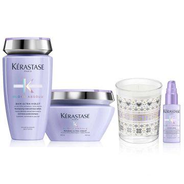 Комплект за коса Kerastase Blond Absolu Ultra Violet 2 Holiday 2020