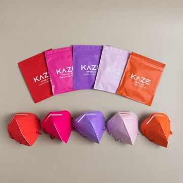 Защитна маска KAZE Vibrant 10 бр