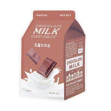 Masca de fata Apieu Chocolate Milk Netezire 21g