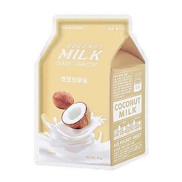 Masca de fata Apieu Coconut Milk Hidratare 21g