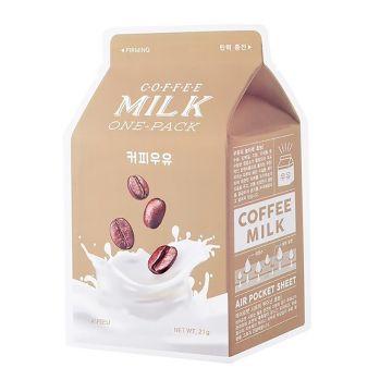 Masca de fata Apieu Coffee Milk Fermitate 21g