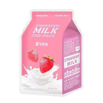 Masca de fata Apieu Strawberry Milk Netezire 21g
