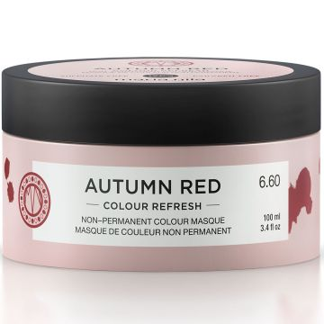Masca de par nuantatoare Maria Nila Colour Refresh Autumn Red 6.60 100ml