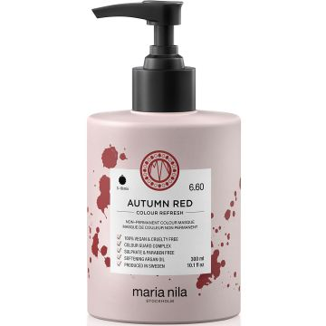 Masca de par nuantatoare Maria Nila Colour Refresh Autumn Red 6.60 300ml