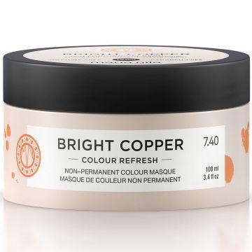 Masca de par nuantatoare Maria Nila Colour Refresh Bright Copper 7.40 100ml
