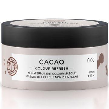 Masca de par nuantatoare Maria Nila Colour Refresh Cacao 6.00 100ml