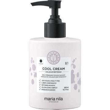 Masca de par nuantatoare Maria Nila Colour Refresh Cool Cream 8.1 300ml
