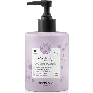 Masca de par nuantatoare Maria Nila Colour Refresh Lavender 9.22 300ml