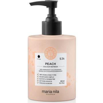 Masca de par nuantatoare Maria Nila Colour Refresh Peach 9.34 300ml