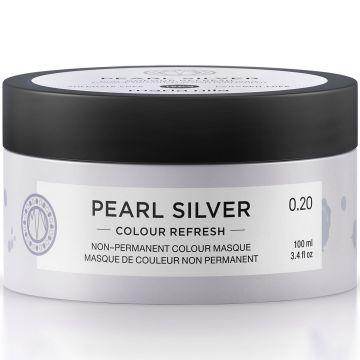 Masca de par nuantatoare Maria Nila Colour Refresh Pearl Silver 0.20 100ml