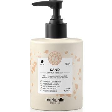 Masca de par nuantatoare Maria Nila Colour Refresh Sand 8.32 300ml