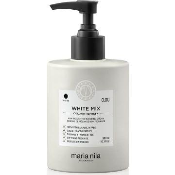Masca de par nuantatoare Maria Nila Colour Refresh White Mix 0.00 300ml