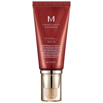 BB Cream Missha Perfect Cover SPF42/PA+++ Warm Beige 20ml