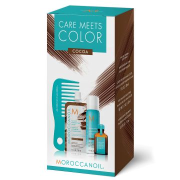 Set de par Moroccanoil Care Meets Color Cocoa